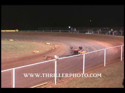 ASCS2 & Regular Classes at Dutton's Speedway 7-3-09 Highlights