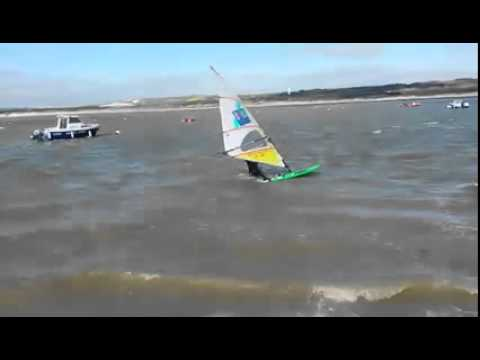 Waterstart By Hugo Planche A Voile Au Touquet Youtube