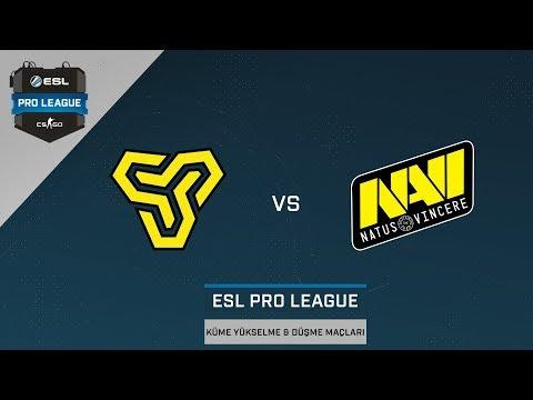 CS:GO - Space Soldiers vs. NaVi [İnferno] Harita 1 - ESL Pro League Küme Yükselme ve Düşme Maçları