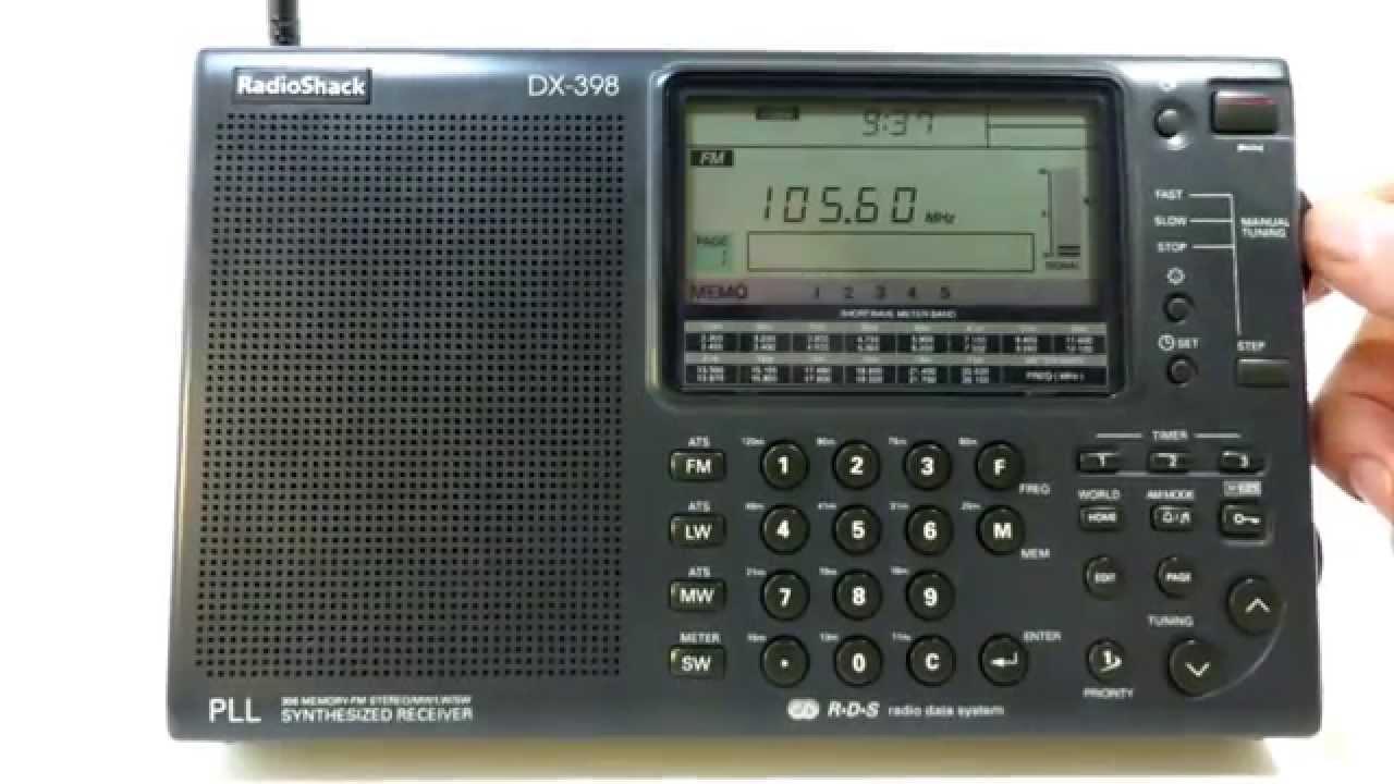 Radioshack Dx 398 Sangean Ats 909 All Band Radio