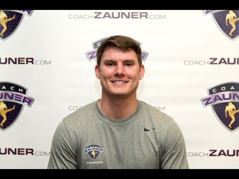 Brett Maher Testimonial About Coach Zauner's 2014 Free Agent Combine