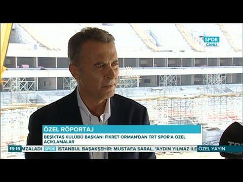 Fikret Orman Vodafone Arena Hakkında Soruları Cevapladı