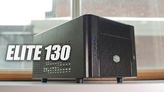 cooler Master Elite 130 обзор mini ITX Корпуса