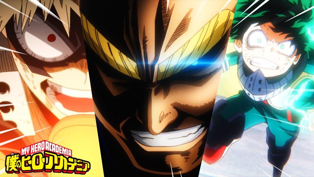ALL MIGHT VS. DEKU Y BAKUGOU / Boku No Hero (2nd Temp ...