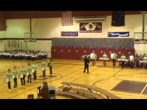 Soldotna middle school drum line 2