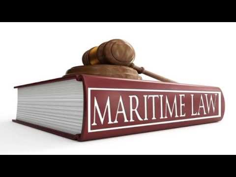 Maritime law is applied for marine
