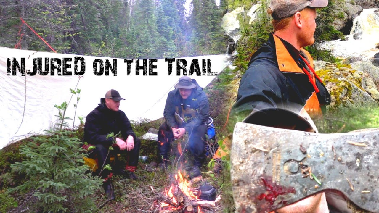 Two Brothers Alone in the Wilderness - INJURED on the Trail - Ep 2 - Camping &  Unmarked Waterfalls