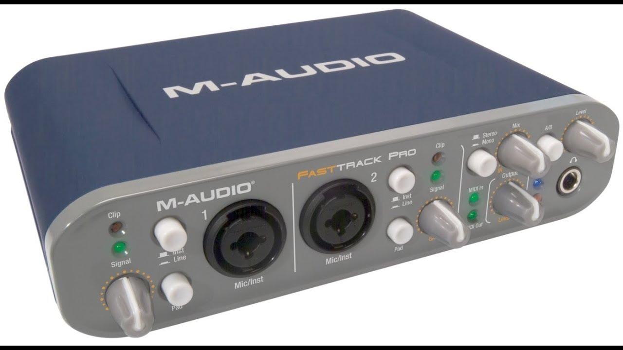 Drivers para M-AUDIO Fast Track USB