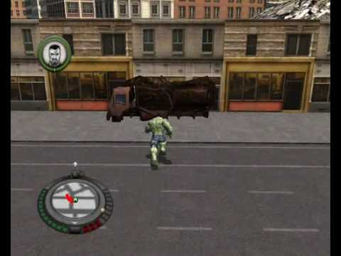 Incredible Hulk PC gameplay 'Fun things you can do''