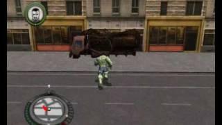 Incredible Hulk PC gameplay