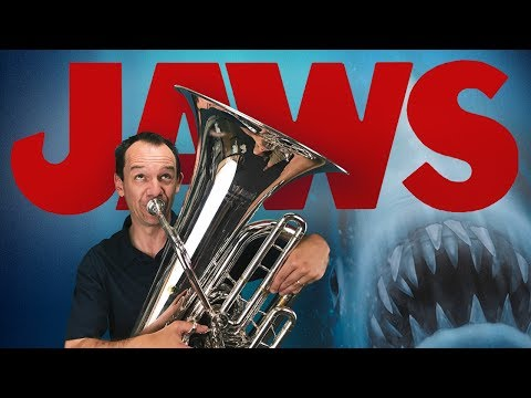 Theme from Jaws (euphonium, tuba, cimbasso and piano cover)