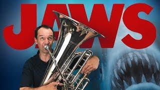 Jaws Theme (euphonium, tuba, cimbasso and piano cover)