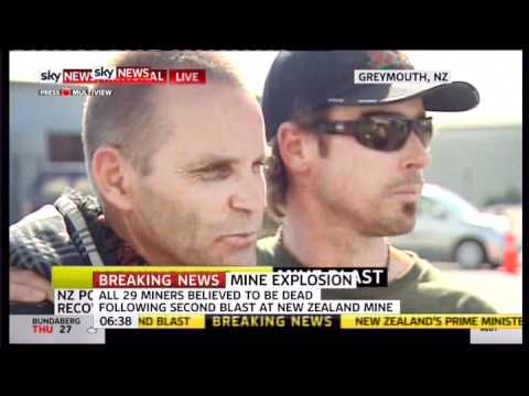 New Zealand mine explosion all miners now believed dead Family member comments