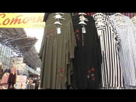 Краткий обзор больших размеров платьев и женских костюмов Дордой , Бишкек , май 2019