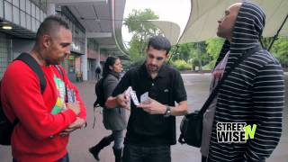 Download Video Dynamo magician! Streetwise EXCLUSIVE! MP3 3GP MP4