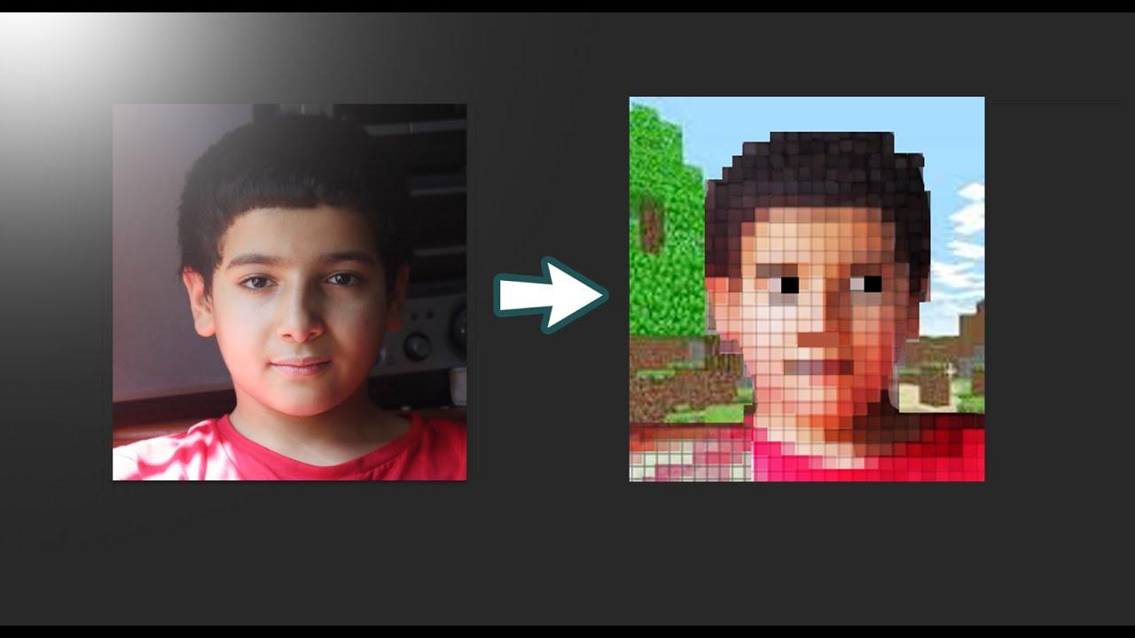 Pixel Art Minecraft Avec Anis Youtube