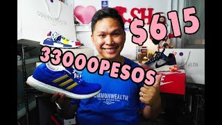 SNEAKER SHOPPING ON THE BEST SNEAKER STORE IN THE PHILIPPINES // $600 BUDGET 33000PHP