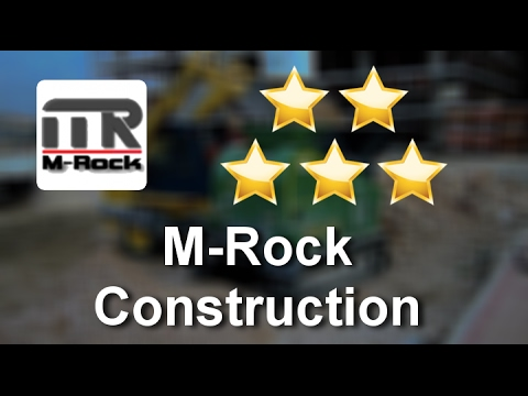 M-Rock Construction Salt Lake City Great 5 Star Review by G. T.