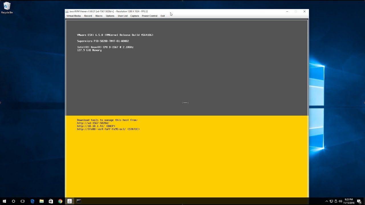 First look at easy install of VMware ESXi 6 5, preparing for vSphere  6 5/VCSA