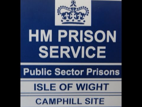 "HMP CAMP HILL PRISON ISLE OF WIGHT  ""TRAINING VIDEO 1990"""