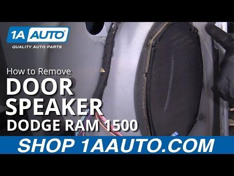 How to Replace Door Speaker 94-02 Dodge Ram 1500