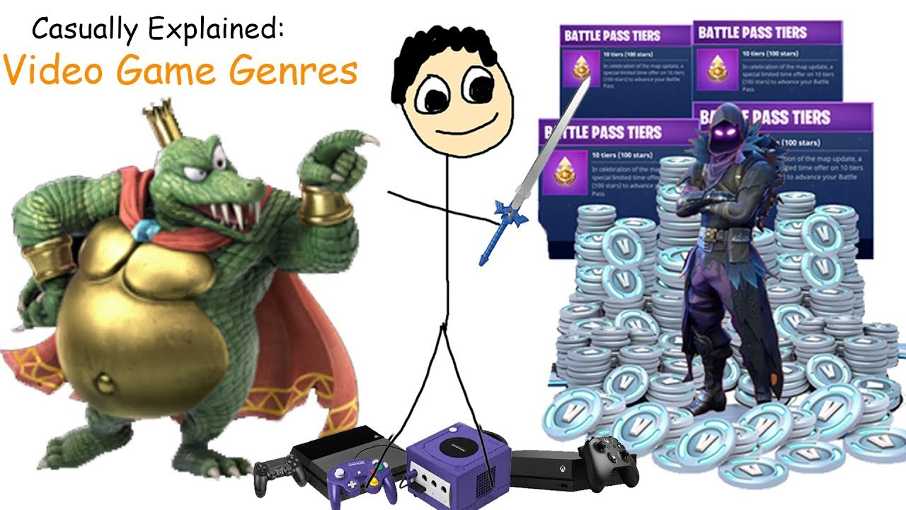 Casually Explained Video Game Genres