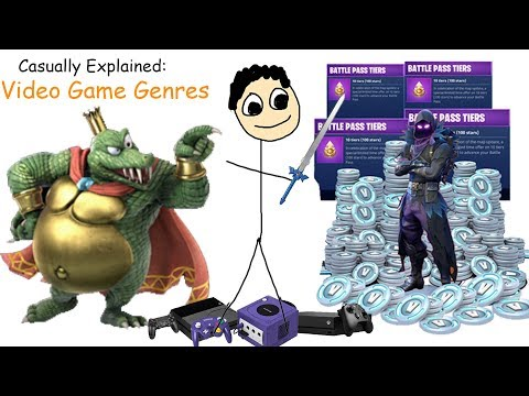 Casually Explained: Video Game Genres