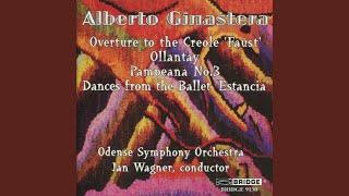 Dances from the Ballet Estancia, Op. 8a: IV. Danza final - Malambo