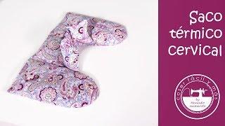 Este saco térmico cervical te va a ayudar a eliminar tensiones de la zona de los hombros y cuello y a aliviar el dolor muscular. Descarga los patrones gratis.