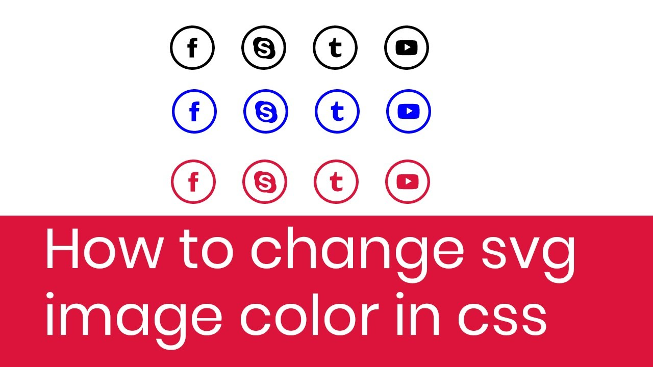 How To Change Svg Image Color In Css How To Change Svg Image Color On Mouse Hover In Css Youtube