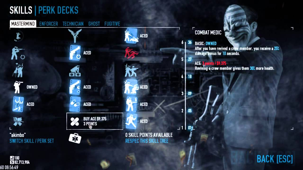 Build A Dodge >> Payday 2 Dodge Builds For Death Wish Youtube