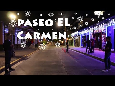 A little Night life in EL SALVADOR (PASEO EL CARMEN)