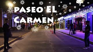 A little Night life in EL SALVADOR (PASEO EL CARMEN)