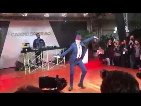 Gala Sanremo 2017 ballerino spot Tim