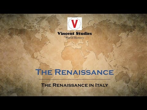 UL10 Lecture 1 - The Renaissance in Italy