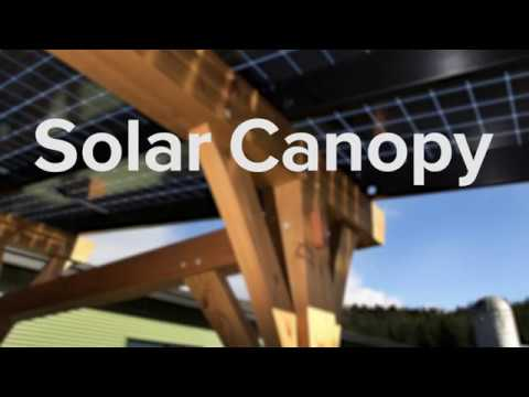 What is a Solar Canopy?