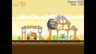 Angry Birds Mighty Hoax 5-3 Walkthrough 3 Star