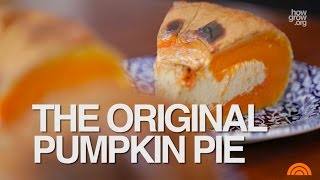 "Thanksgiving Pumpkin Pie - The ORIGINAL Recipe  (""Pie in a Pumpkin"")"