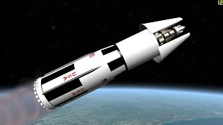 Mission to Mars: Orion nuclear propulsion (remastered) - Orbiter Space Flight Simulator 2010