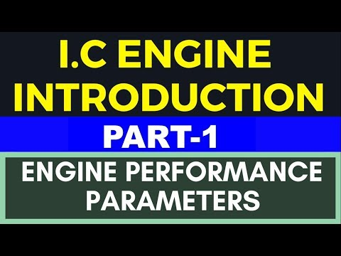 I.C. Engine  # Engine Performance Parameters In Hindi Part-1