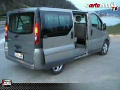 test renault trafic 2 5dci