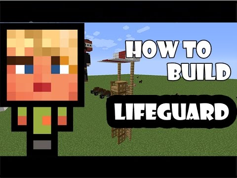 how to build a lifeguard chair ergonomic price johannesburg tower youtube