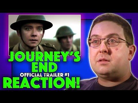 REACTION! Journey's End Trailer #1 - Sam Claflin Movie 2018