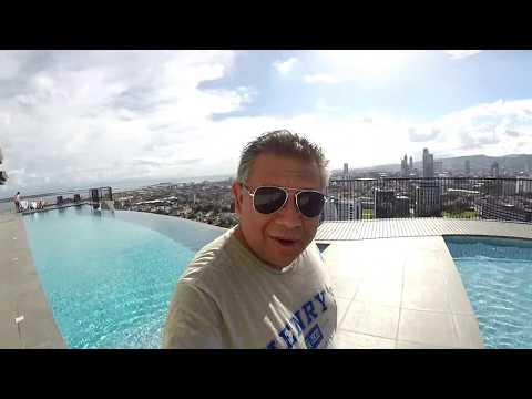 Video Postcard:  Rooftop Pool at Calyx Residences - Cebu