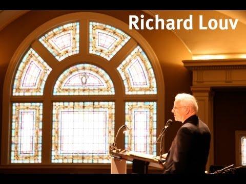 """Richard Louv """"The Nature Principle"""" Seattle 5/21/11"""