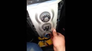 Repair yaris fresh/recirculate switch