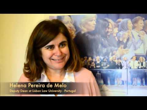 Helena Pereira de Melo 4   Iran Resistance Meeting   13 June