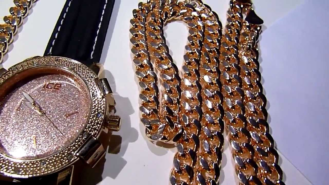 Displaying 20 gt  Images For - Tyga Rolex Link Chain   Tyga Rolex Chain