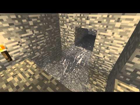 Minecraft Water Physics Animation - YouTube