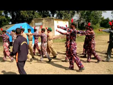Ncc (Pre RDC camp mumbai b group drill practice)